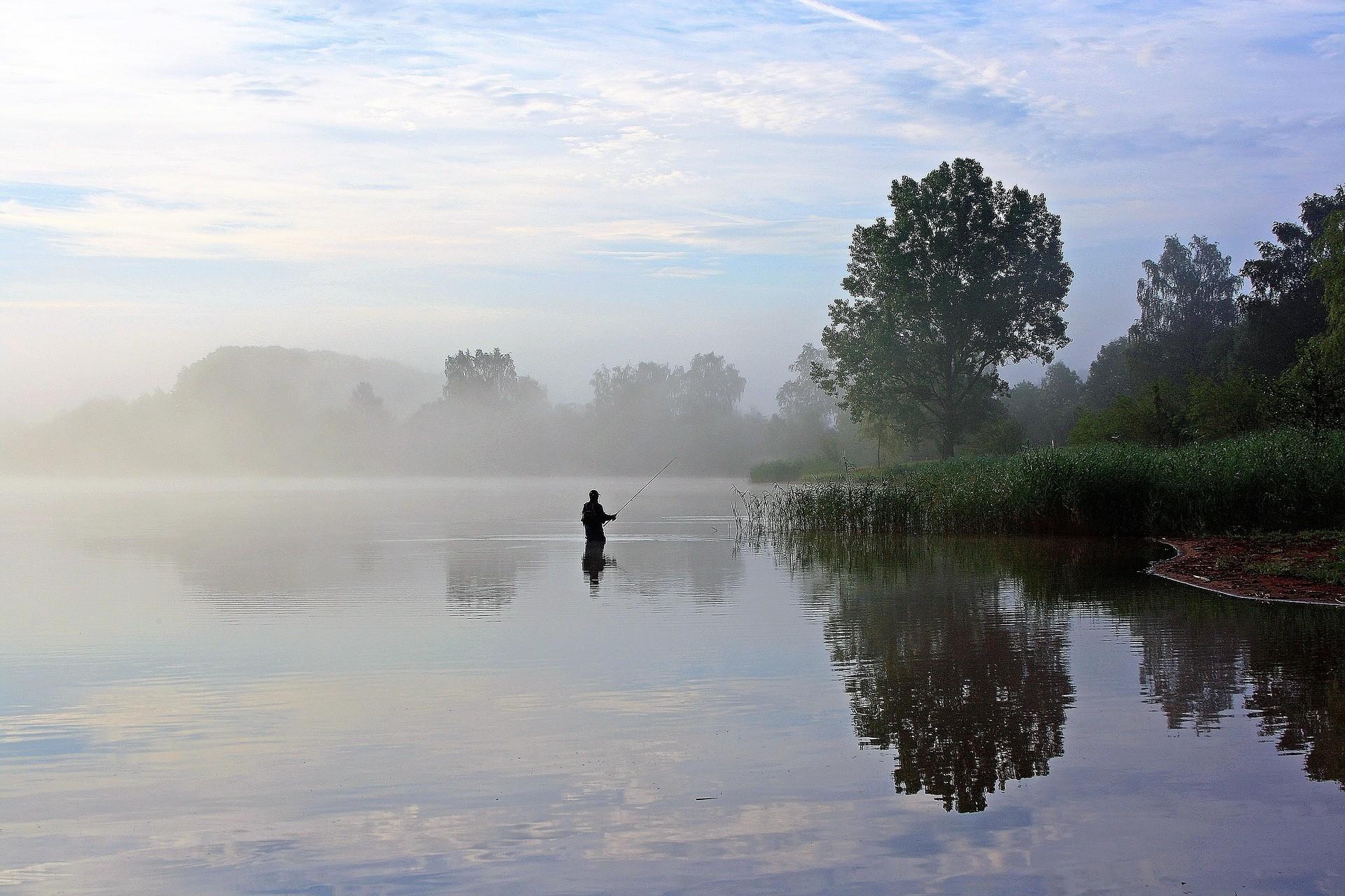 a fisherman or an angler