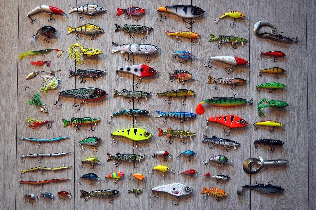 Fishing hooks and baits